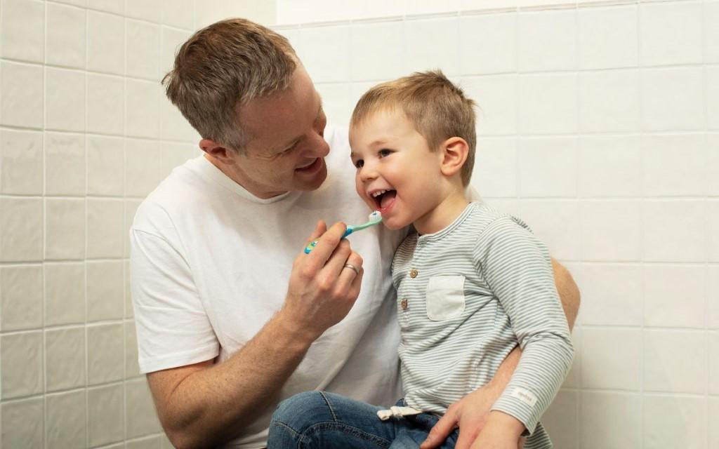 Unngå råtne tenner hos barn