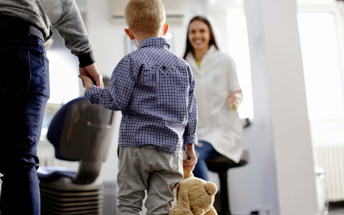 tannlegekontroll for barn