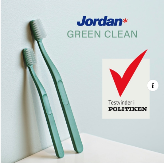«Best in test» among sustainable toothbrushes (Politiken.dk)