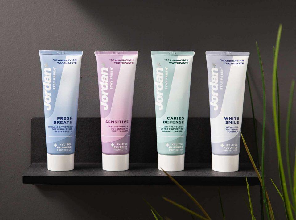 Jordan Stay Fresh Scandinavian toothpaste